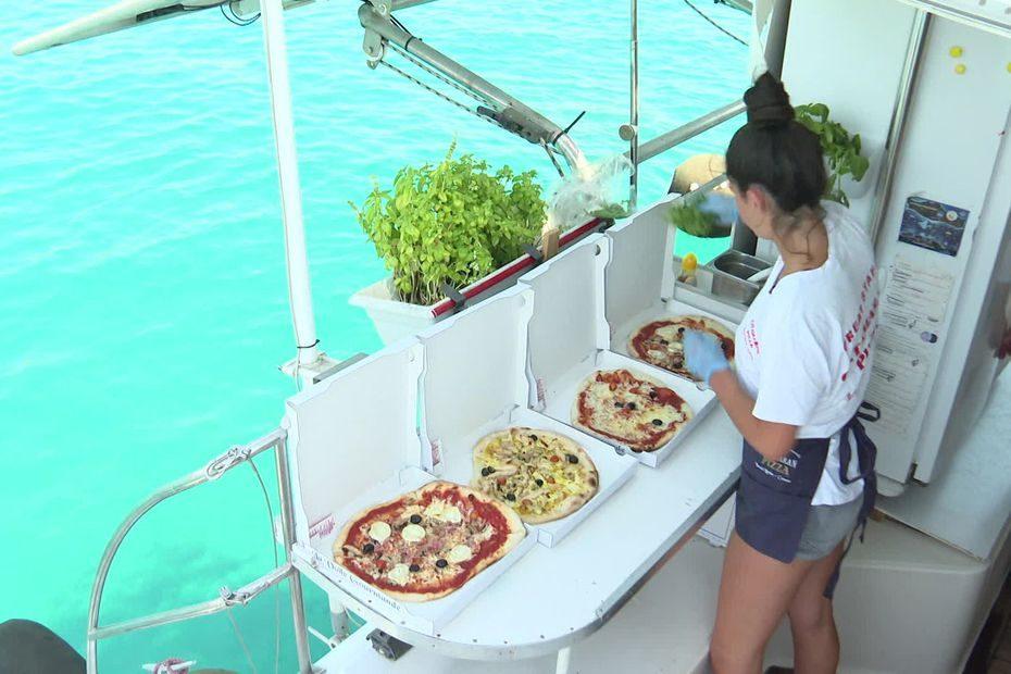 Plateaux de fruits de mer, cocktails, glaces, pizzas : de plus en plus de services flottants entre les îles de Lérins