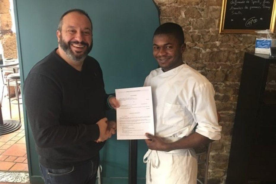 Lyon : Moussa, réfugié guinéen, au championnat du monde de pizza