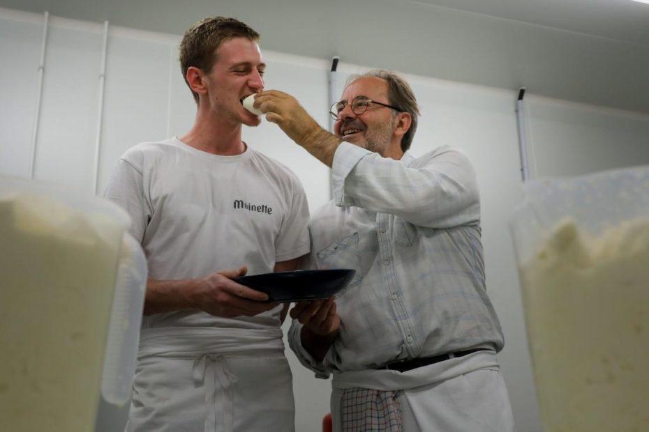 Lille: Gilberto d'Annunzio, «le roi de la pizza», fabrique désormais sa propre mozzarella