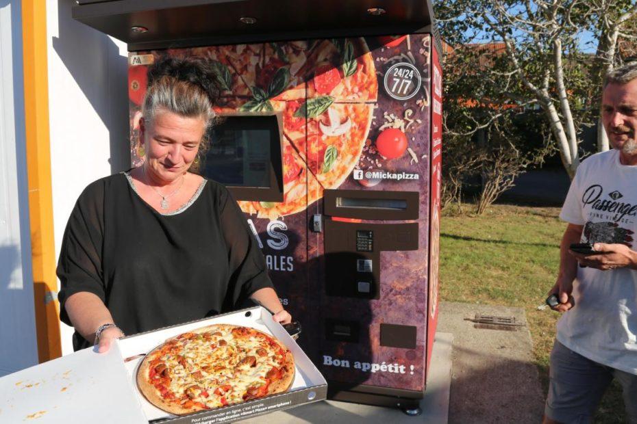 Étaples : un distributeur de pizzas 24h sur 24 pour Micka Pizza