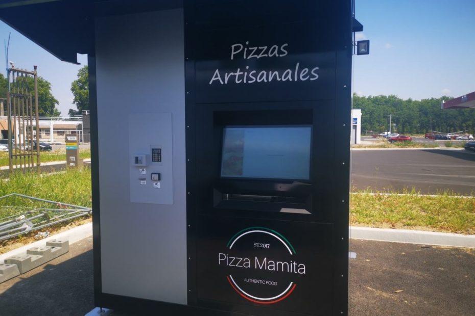 Lauragais. Un distributeur automatique de pizzas sur le parking du centre commercial à Montgiscard
