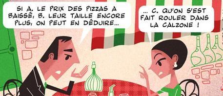 taille des pizzas