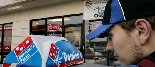 rançon chez dominos pizza