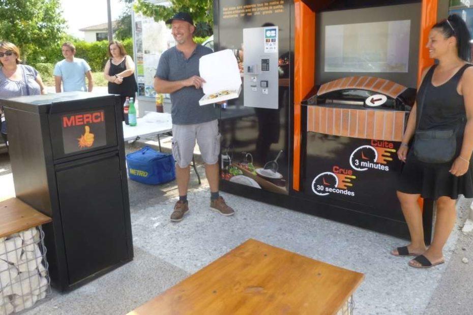 Roullet-Saint-Estèphe: un distributeur de pizzas installé dans le bourg