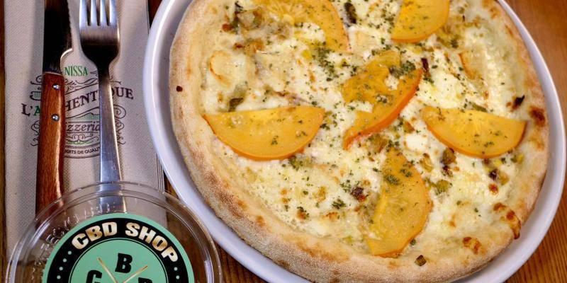 Cette pizzeria de Nice propose cette semaine une pizza au... CBD, le cannabis légal