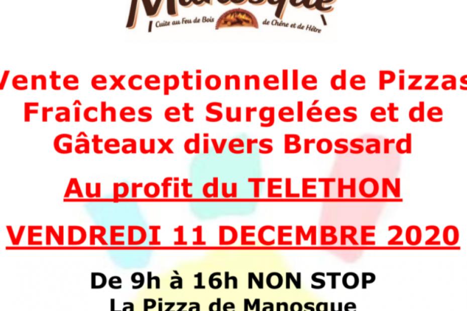 Alpes-de-Haute-Provence : La pizza de Manosque met ses ventes au profit du Téléthon ce vendredi