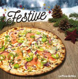 La Pizza de Nico lance une nouvelle pizza pour les fêtes de fin d'année