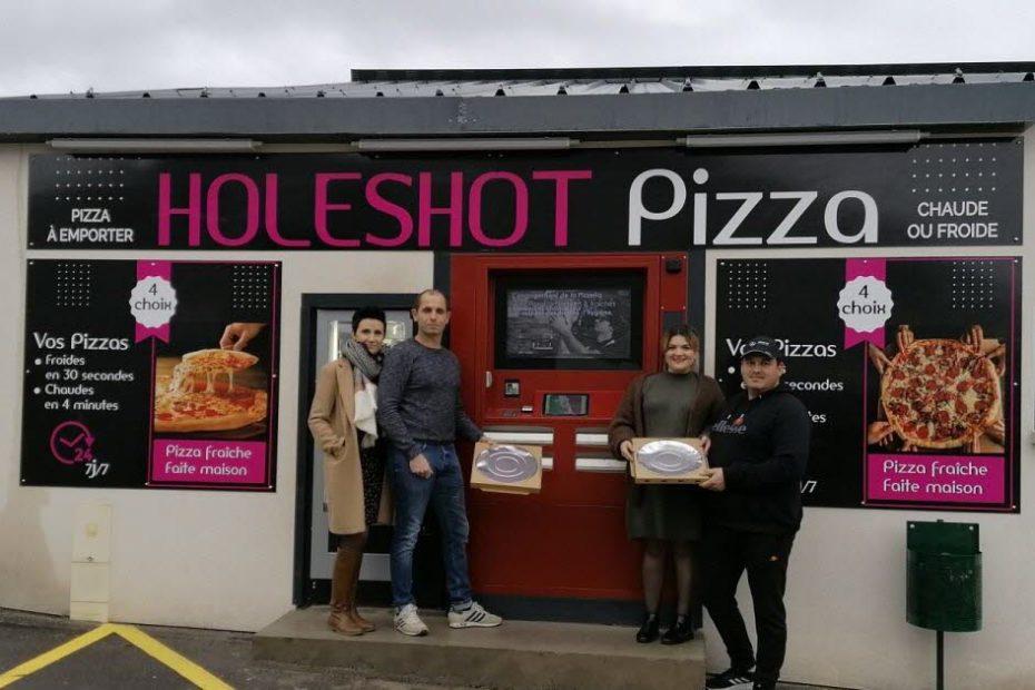 Holeshot Pizza: un distributeur de pizzas installé avenue de Verdun