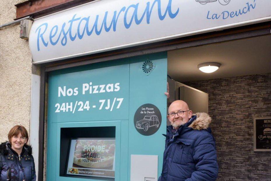 Manger une pizza de restaurant à toute heure, c'est possible!