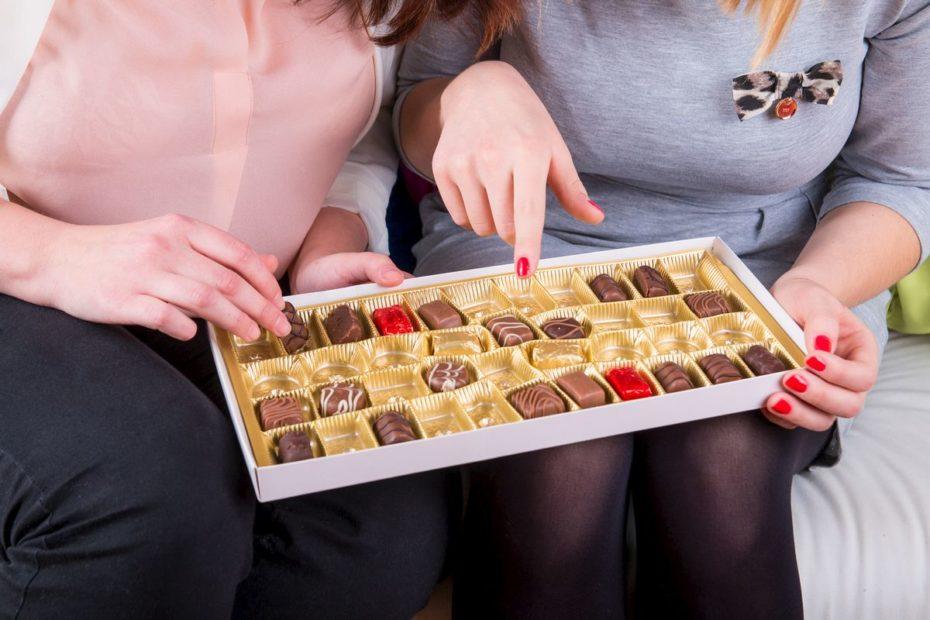 Interdit de partager des beignes, du chocolat ou de la pizza