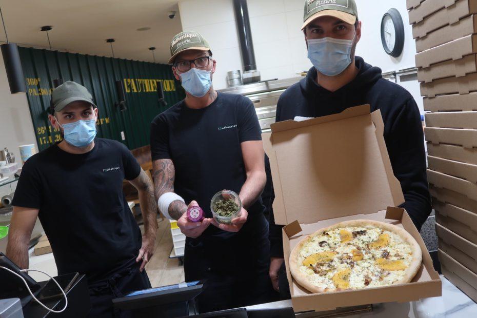 À Nice, la pizza au cannabis fait un tabac