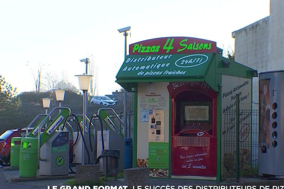 #TF1 - Le grand format : l'incroyable succès des distributeurs automatiques de pizza - Le journal de 20h