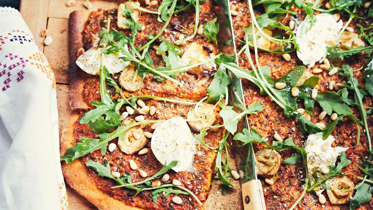 Notre recette épatante de pizza à la crème de poivron