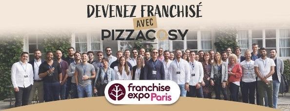 Pizza Cosy recrute de nouveaux adhérents sur Franchise Expo Paris du 26 au 29 septembre