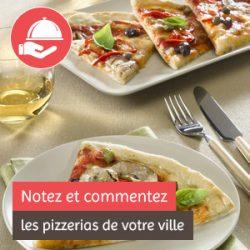 notez et commentez les pizzerias de votre ville
