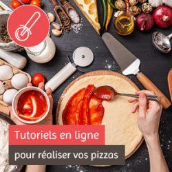 Tutoriels en ligne pour réaliser vos pizzas